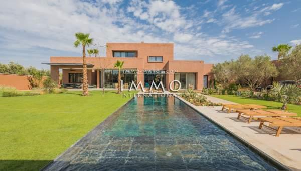 villa achat Contemporain agence immobiliere de luxe marrakech Marrakech Extérieur