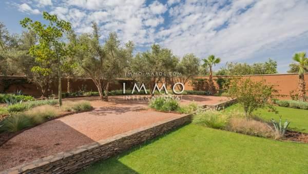 Achat villa Contemporain luxe Marrakech Extérieur