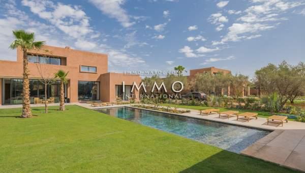 villa achat Contemporain luxe Marrakech Extérieur
