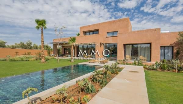Achat villa Contemporain Marrakech Extérieur