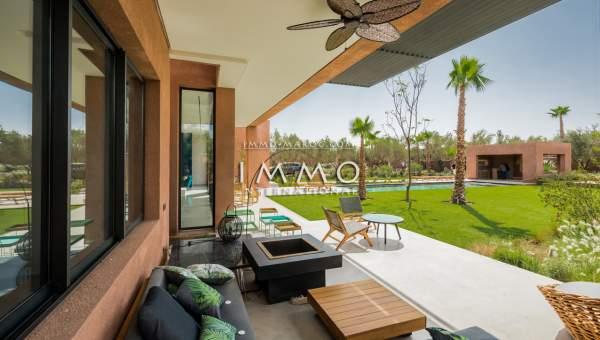 villa achat Contemporain prestige Marrakech Extérieur