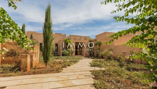 Maison à vendre Contemporain biens de prestige Marrakech Palmeraie Bab Atlas