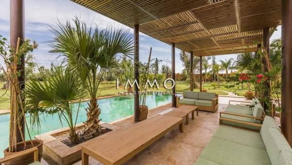 acheter maison Moderne luxe Marrakech Palmeraie Bab Atlas