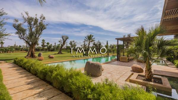 Vente maison Contemporain immobilier de luxe marrakech Marrakech Palmeraie Bab Atlas