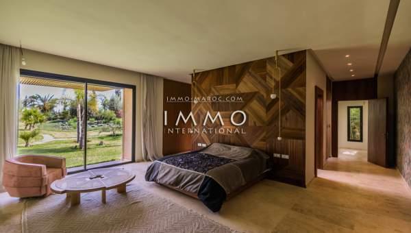 Achat villa Moderne immobilier luxe à vendre marrakech Marrakech Palmeraie Bab Atlas