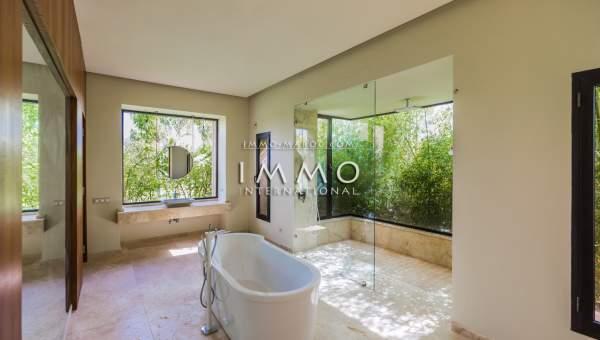 Vente villa Contemporain luxueuses Marrakech Palmeraie Bab Atlas
