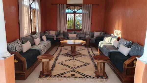 Villa à louer Marocain épuré Marrakech Extérieur Route Ouarzazate