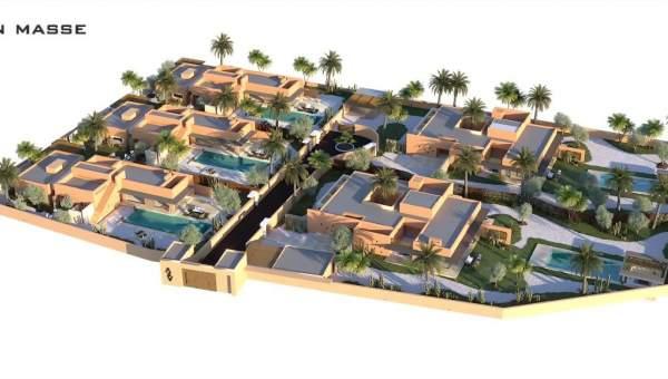 acheter maison Moderne Marrakech Extérieur Route Amizmiz