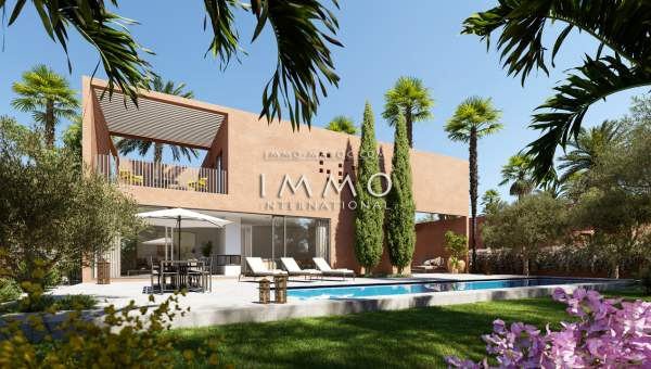 Vente villa Contemporain Marrakech Extérieur Route Ourika