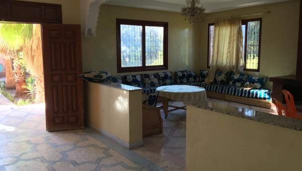 villa achat Marocain Marrakech Extérieur Route Fes