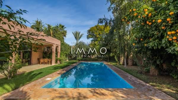 Vente villa Moderne immobilier de luxe marrakech Marrakech Centre ville Agdal - Mohamed 6
