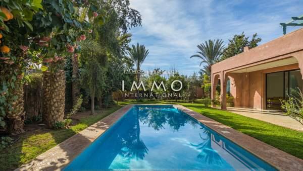 Achat villa Moderne prestige Marrakech Centre ville Agdal - Mohamed 6