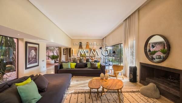 Vente villa Moderne prestige Marrakech Extérieur Route Ouarzazate