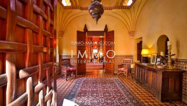 Villa à vendre Marocain épuré propriete luxe marrakech à vendre Marrakech Palmeraie Circuit Palmeraie