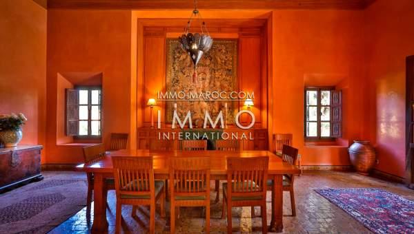 acheter maison Marocain épuré agence immobiliere de luxe marrakech Marrakech Palmeraie Circuit Palmeraie