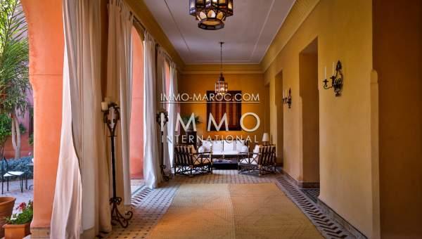 villa vente Marocain épuré prestige Marrakech Palmeraie Circuit Palmeraie