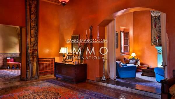 acheter maison Marocain épuré immobilier luxe à vendre marrakech Marrakech Palmeraie Circuit Palmeraie