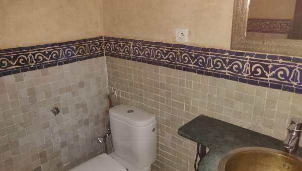 appartement vente Marocain épuré Marrakech Extérieur Route Fes