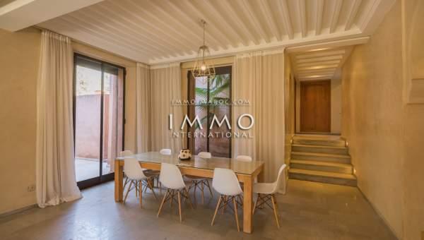 villa vente Bureaux Moderne Marrakech Palmeraie