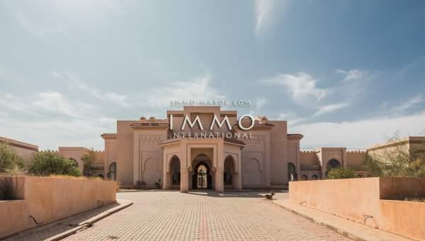 Vente maison Marocain immobilier luxe à vendre marrakech Marrakech Palmeraie