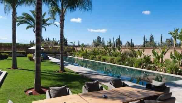 Villa à vendre Moderne immobilier luxe à vendre marrakech Marrakech Extérieur Route Amizmiz