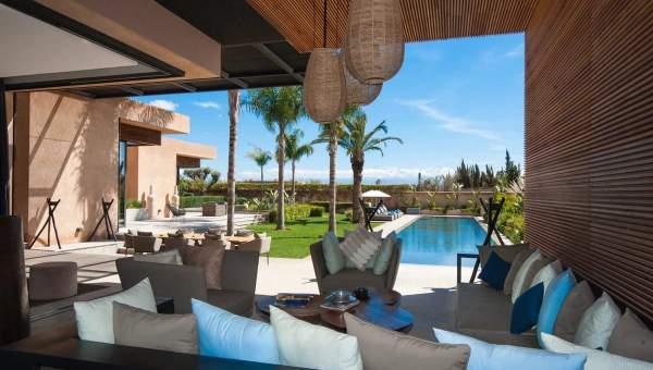 acheter maison Moderne haut de gamme Marrakech Extérieur Route Amizmiz