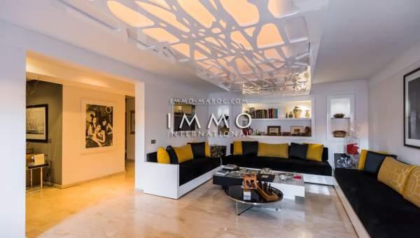 appartement vente Contemporain propriete luxe marrakech à vendre Marrakech Centre ville Lycée français - Camp El Ghoul