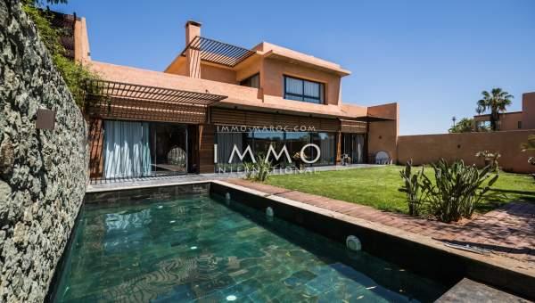 Achat villa Contemporain Marrakech Golfs Extérieur