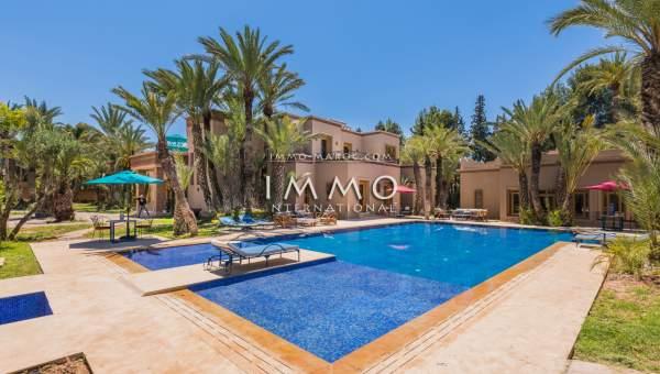 Vente villa Marocain haut de gamme Marrakech Palmeraie Palmariva – Dar tounsi