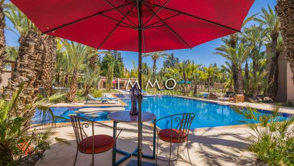 villa achat Marocain haut de gamme Marrakech Palmeraie Palmariva – Dar tounsi