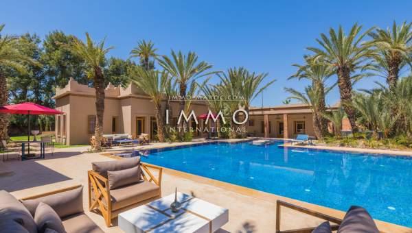 Villa à vendre Marocain propriete luxe marrakech à vendre Marrakech Palmeraie Palmariva – Dar tounsi
