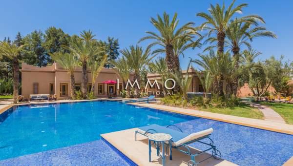 Maison à vendre Marocain luxe Marrakech Palmeraie Palmariva – Dar tounsi