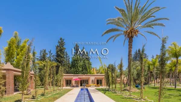 Achat villa Marocain agence immobiliere de luxe marrakech Marrakech Palmeraie Palmariva – Dar tounsi