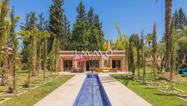 villa vente Marocain luxueuses Marrakech Palmeraie Palmariva – Dar tounsi