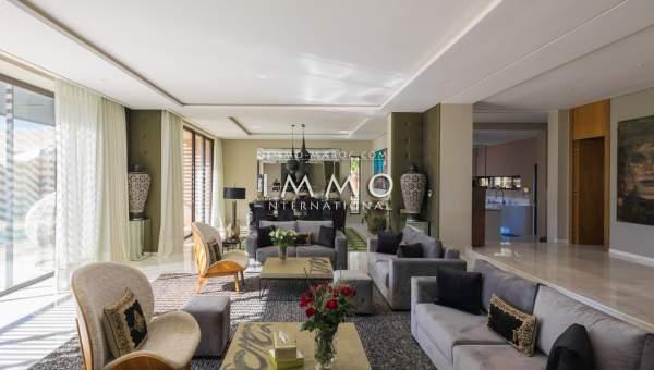 villa achat Contemporain haut de gamme Marrakech Golfs Amelkis