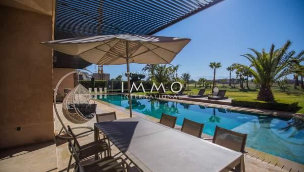 villa achat Contemporain prestige a vendre Marrakech Golfs Amelkis
