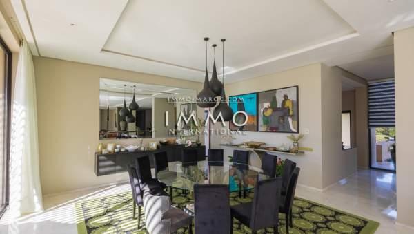 Maison à vendre Contemporain prestige a vendre Marrakech Golfs Amelkis