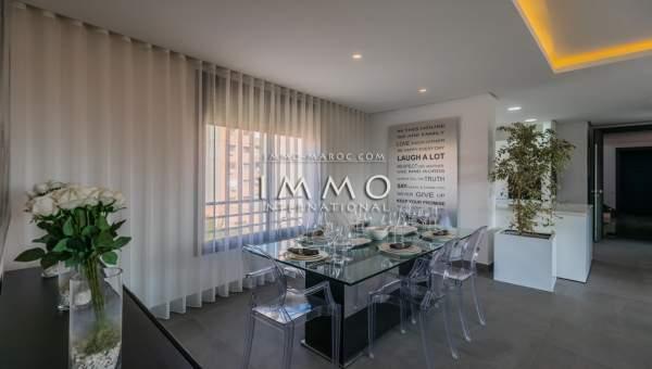 Appartement à vendre Contemporain Marrakech Centre ville Lycée français - Camp El Ghoul