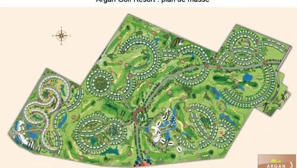 Vente terrain Terrain villa Marrakech Golfs GOLF ARGANA