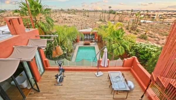 Vente villa Moderne Marrakech Palmeraie Circuit Palmeraie