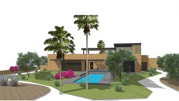 Maison à vendre Contemporain Marrakech Extérieur Route Fes