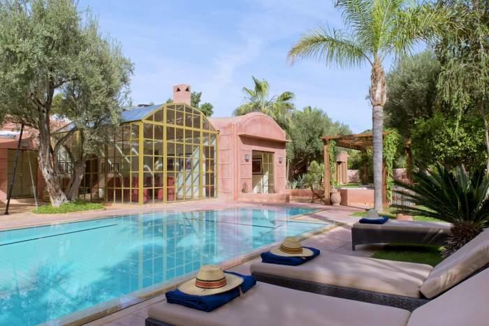 Villa à louer marocain épuré Marrakech Golf