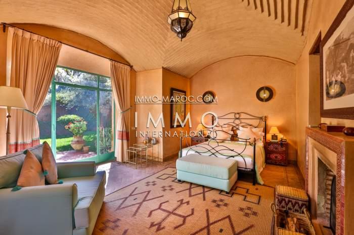 acheter maison Marocain épuré Marrakech Palmeraie