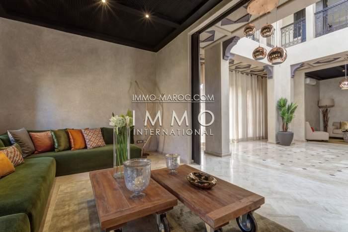 Vente villa Marocain épuré Marrakech Palmeraie
