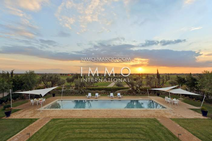 Maison à vendre Contemporain haut de gamme Marrakech Golfs Al Maaden