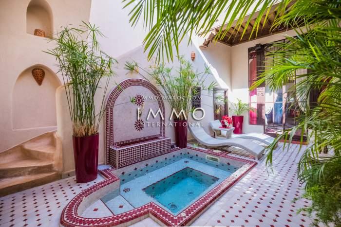 acheter maison Marocain épuré Marrakech Palmeraie Circuit Palmeraie
