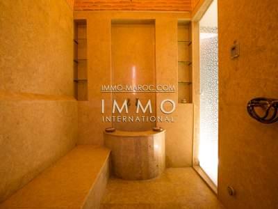 Location maison Moderne Marrakech Extérieur Route Ourika