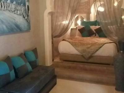 Riad à vendre Marocain épuré Marrakech Place Jamaa El Fna Kenaria