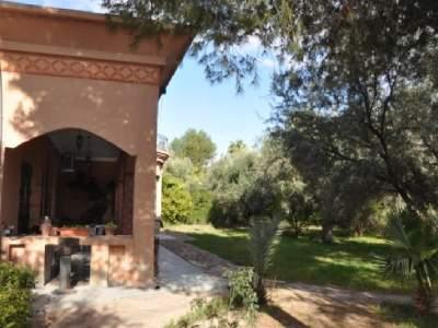 Achat villa Marocain épuré agence immobiliere de luxe marrakech Marrakech Palmeraie