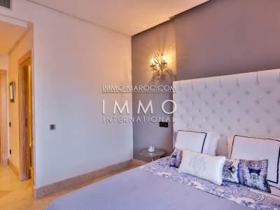 Vente appartement Moderne Prestige Marrakech Hivernage